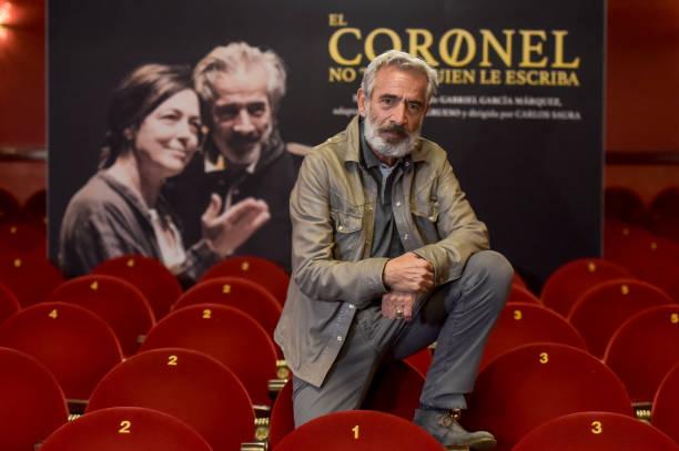 ESP: 'El Coronel No Tiene Quien Le Escriba' Theatre Play In Madrid