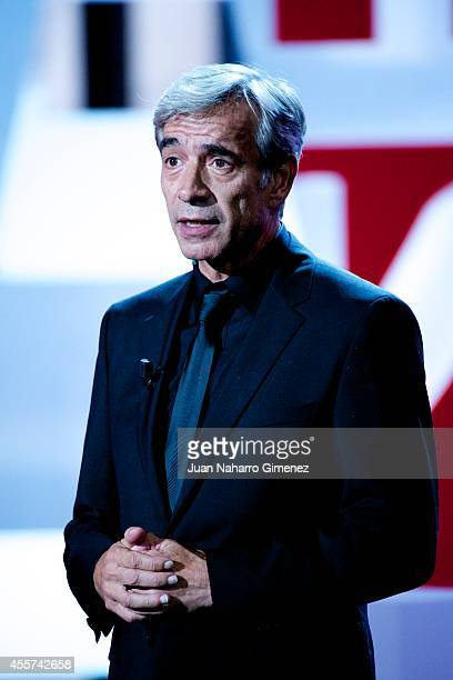 Imanol Arias attends the 62st San Sebastian International Film Festival opening ceremony at the Kursaal Palace on September 19 2014 in San Sebastian...