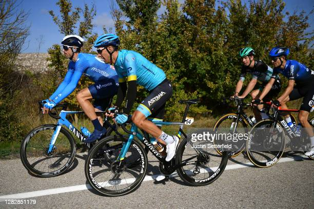 Imanol Erviti of Spain and Movistar Team / Omar Fraile Matarranz of Spain and Astana Pro Team / during the 75th Tour of Spain 2020, Stage 9 a 157,7km...