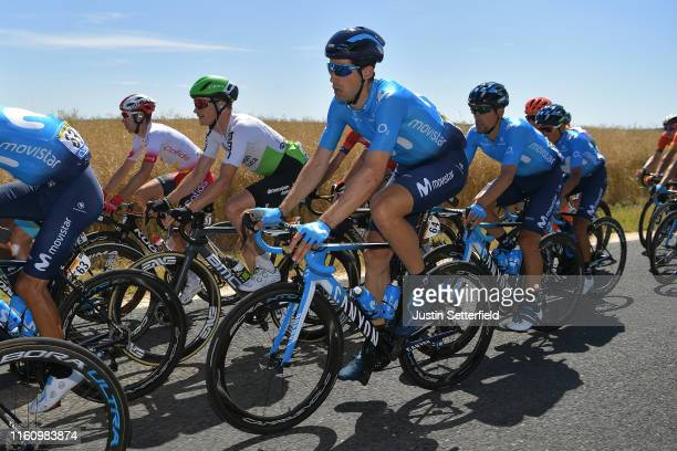Imanol Erviti of Spain and Movistar Team / Peloton / during the 106th Tour de France 2019, Stage 4 a 213,5km stage from Reims to Nancy / TDF /...
