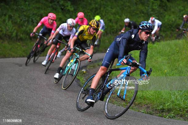 Imanol Erviti Ollo of Spain and Movistar Team / Rain / during the 71st Criterium du Dauphine 2019, Stage 7 a 133,5km stage from...