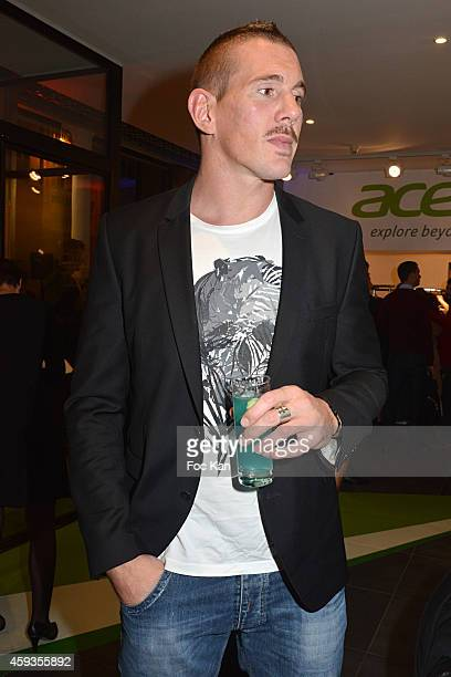 Imanol Harinordoquy attends the Acer Pop Up Store Launch Party at Les Halles on November 20 2014 in Paris France