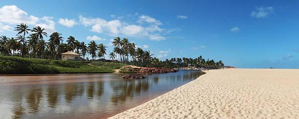 Imbassai River And Beach Wall Art