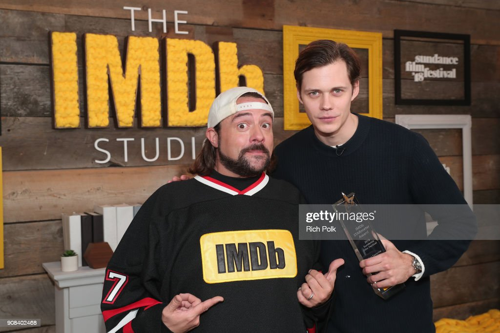 Bill Skarsgard Receives the IMDb STARmeter Award at the 2018 Sundance Film Festival In Park City - 2018 Park City, Utah