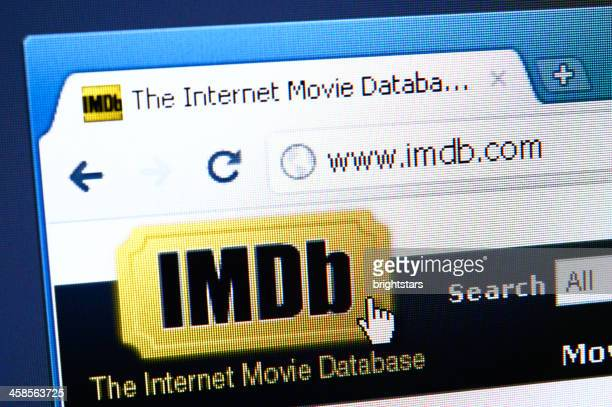 IMDb webpage on the browser