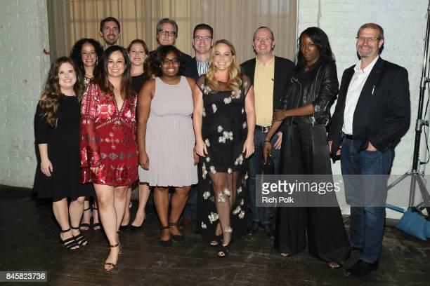 IMDb's Courtney Niemann IMDb's Jess Blumenthal GM of IMDb Advertising Tony Brancato IMDb's Chako Suzuki Executive Video Producer Shara Angell GM of...