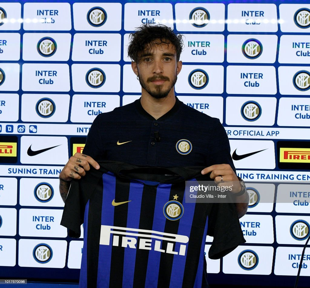 FC Internazionale Unveils New Signing Sime Vrsaljko
