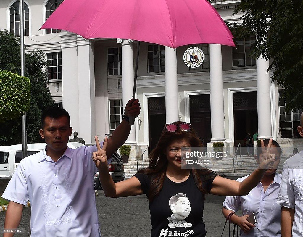PHILIPPINES-POLITICS-DUTERTE-MARCOS-DICTATORSHIP : News Photo