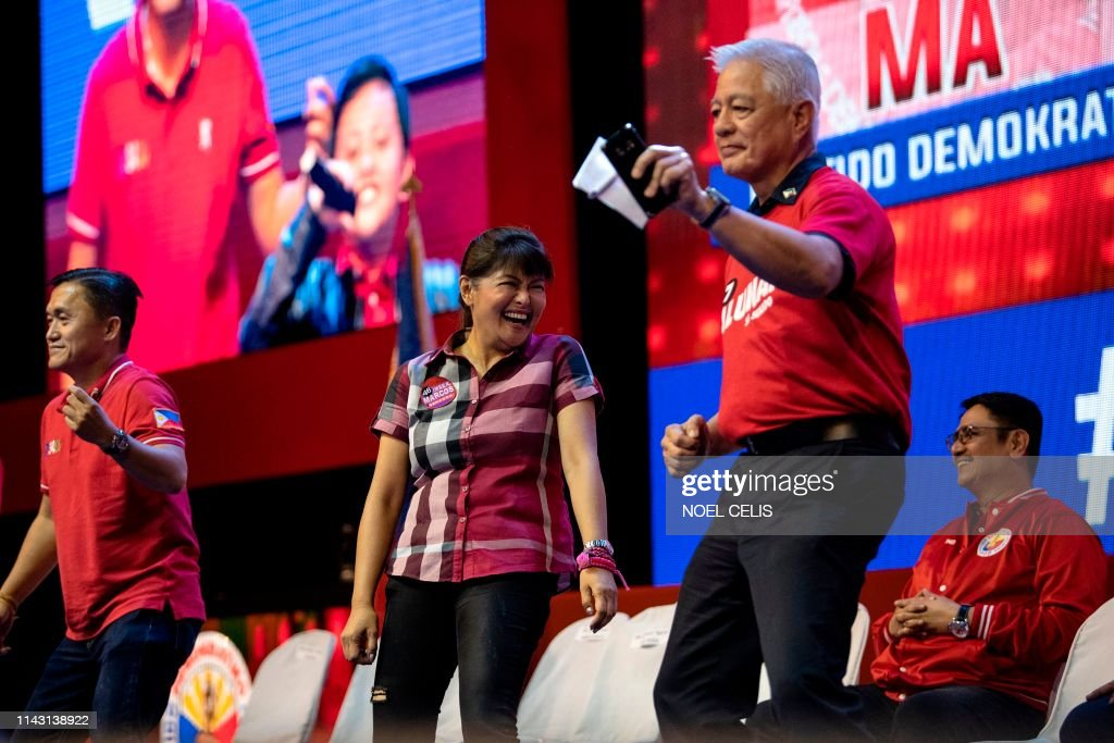 Philippines-politics-vote : News Photo