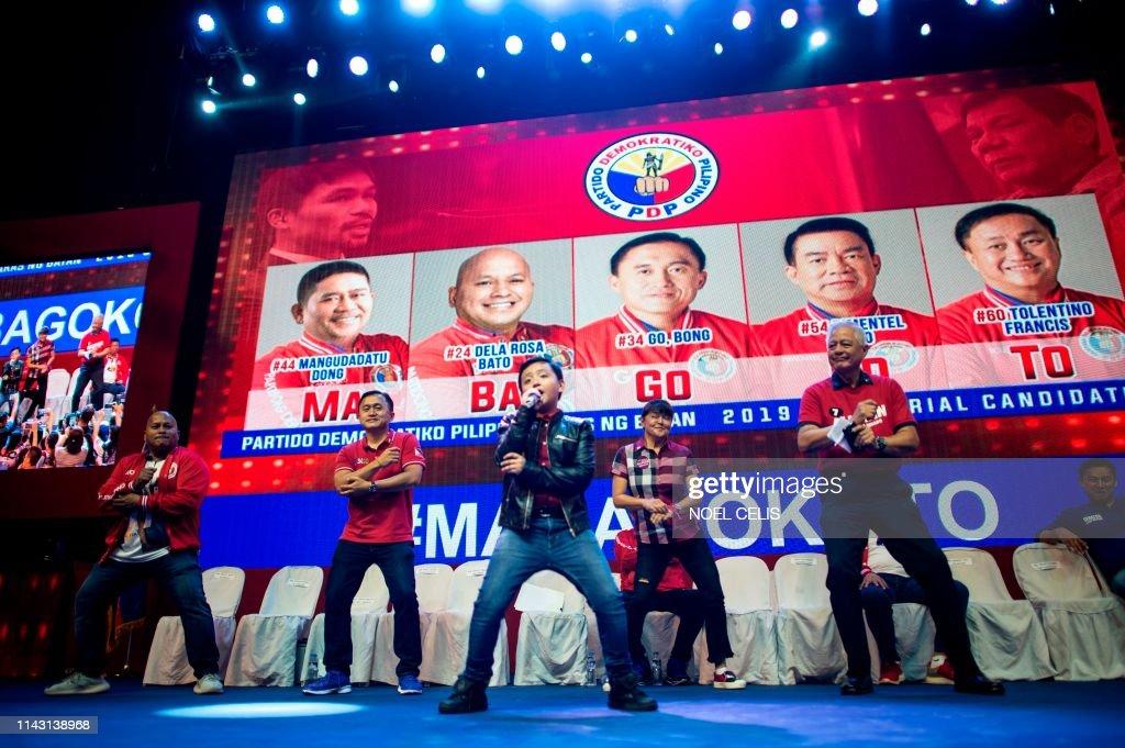Philippines-politics-vote : News Photo