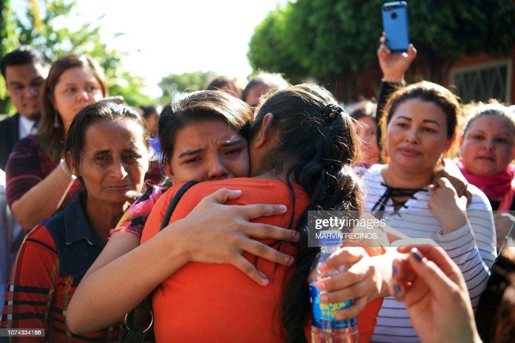 EL SALVADOR-WOMEN-IMELDA : News Photo