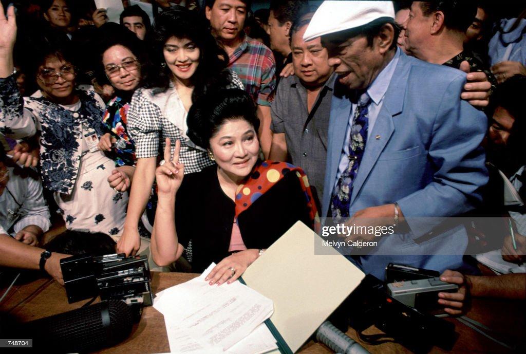 Imelda Marcos... : News Photo