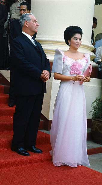 Imelda Marcos with Keith Holyoake Pictures | Getty Images