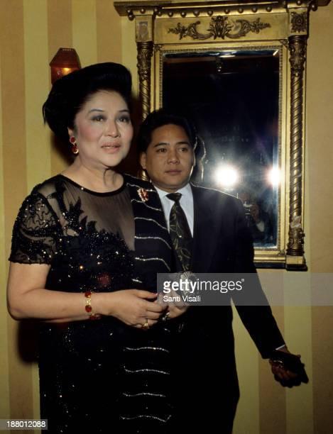 Imelda Marcos on February 23, 1970 in New York, New York.