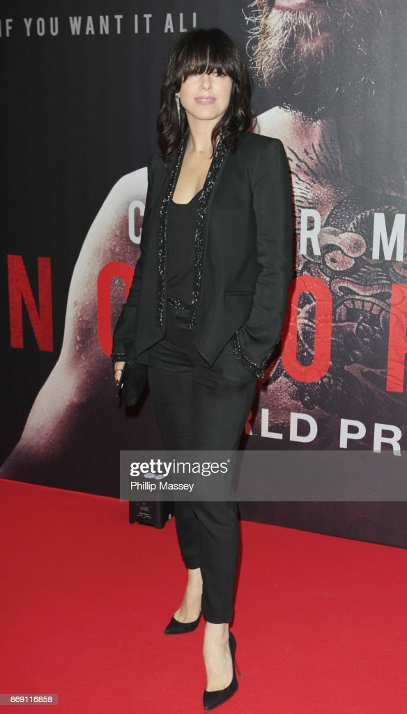 Imelda May attends the Irish premiere of 'Conor McGregor: Notorious' held at the Savoy Cinema on November 1, 2017 in Dublin, Ireland.
