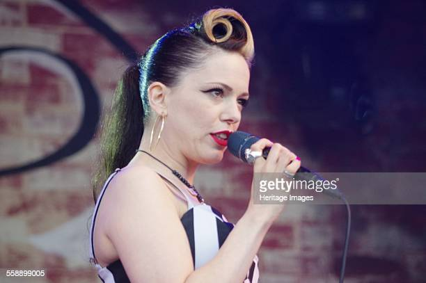 Imelda May Love Supreme Jazz Festival Glynde Place East Sussex 2014 Artist Brian O'Connor