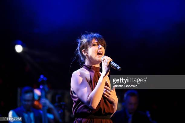 Imelda May on stage during the A Night At Ronnie Scotts 60th Anniversary Gala at Royal Albert Hall on October 30 2019 in London England