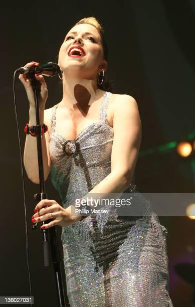 Imelda May performs at O2 on December 16 2011 in Dublin Ireland