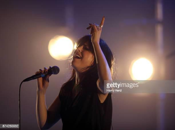 Imelda May performs at The Anvil on November 14 2017 in Basingstoke England