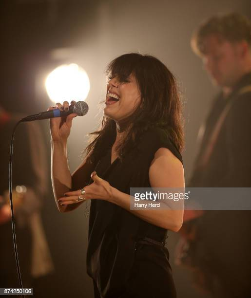 Imelda May performs at The Anvil on November 14 2017 in Basingstoke England