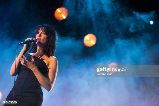 Imelda May performs live at 3Arena Dublin on December 22 2017 in Dublin Ireland