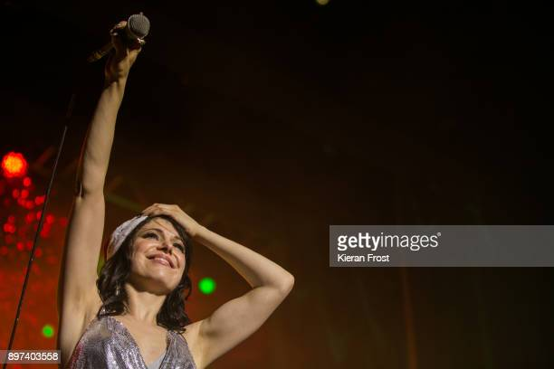 Imelda May performs live at 3Arena Dublin on December 22, 2017 in Dublin, Ireland.