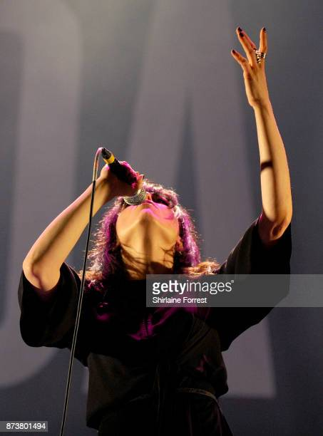 Imelda May performs live on stage at Pyramid Parr Hall on November 13 2017 in Warrington England