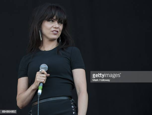 Imelda May performs on day 4 of The Isle of Wight festival at Seaclose Park on June 11 2017 in Newport Isle of Wight