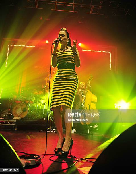 Imelda May performs on stage at O2 Academy on November 15 2011 in Bournemouth United Kingdom