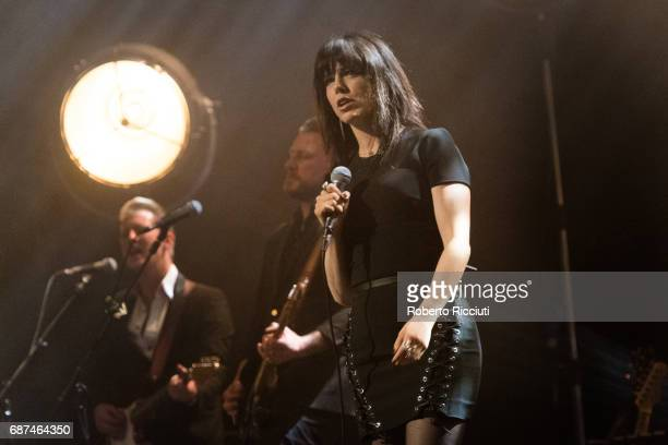 Imelda May performs on stage at Usher Hall on May 23 2017 in Edinburgh Scotland