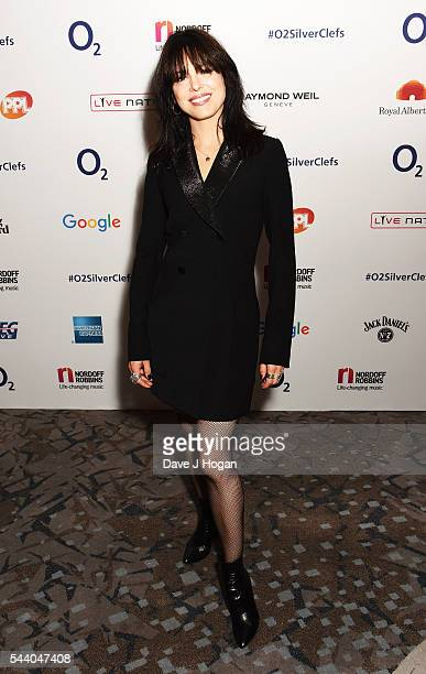 Imelda May poses for a photo during the Nordoff Robbins O2 Silver Clef Awards on July 1 2016 in London United Kingdom