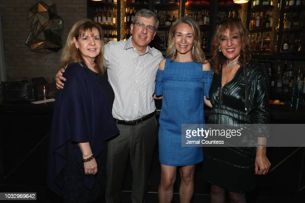 Imelda Sobiloff Peter Sobiloff Celine Rattray and Joanna Plafsky attend the The Kindergarten Teacher premiere during 2018 Toronto International Film...