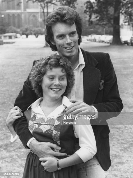 Imelda Staunton and Maurice Thorogood winners of the Ronson Awards for Most Promising Actor and Actress of the Year at the Royal Academy of Dramatic...