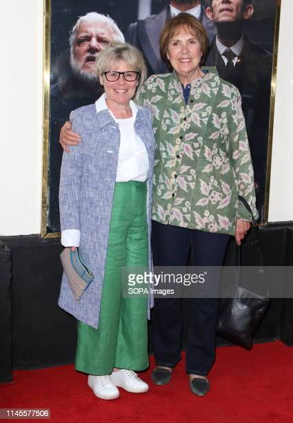 Imelda Staunton and Penelope Wilton at The Lehman Trilogy Press Night at the Piccadilly Theatre Piccadilly Circus
