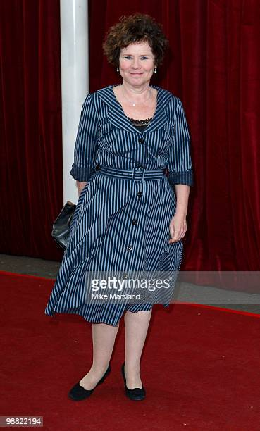 Imelda Staunton attends 'An Audience With Michael Buble' at The London Studios on May 3, 2010 in London, England.