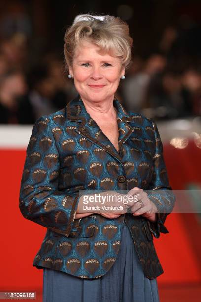 Imelda Staunton attends the Downton Abbey red carpet during the 14th Rome Film Festival on October 19 2019 in Rome Italy
