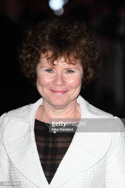 Imelda Staunton attends the film premiere 'Another Year' at the 54th BFI London Film Festival at Odeon Leicester Square on October 18 2010 in London...
