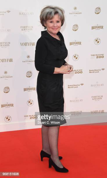 Imelda Staunton attends The Old Vic Bicentenary Ball at The Old Vic Theatre on May 13 2018 in London England