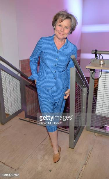 Imelda Staunton attends the Park Theatre's 5th Birthday featuring a gala performance of Building The Wall on May 15 2018 in London England