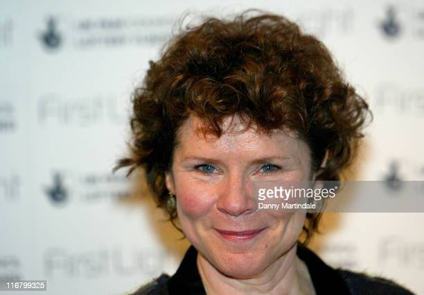 Imelda Staunton during First Light Movies Awards 2007 Photocall at Odeon West End in London Great Britain