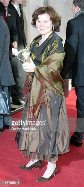 Imelda Staunton during South Bank Show Awards 2007 at The Savoy in London Great Britain