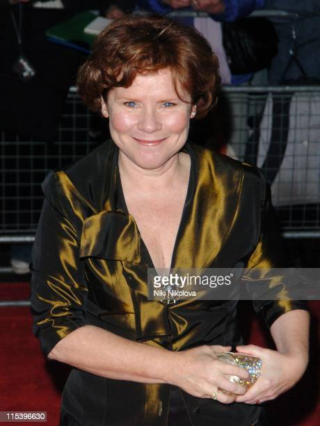 Imelda Staunton during The 2005 British Independent Film Awards Outside Arrivals at Hammersmith Palais in London Great Britain
