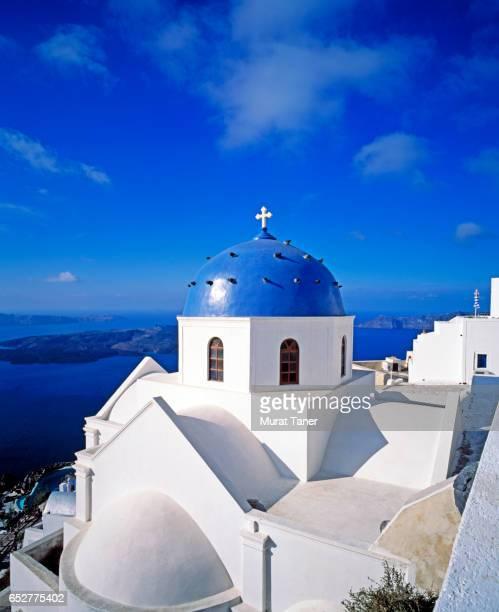 Imerovigli Anastasi Church in Santorini