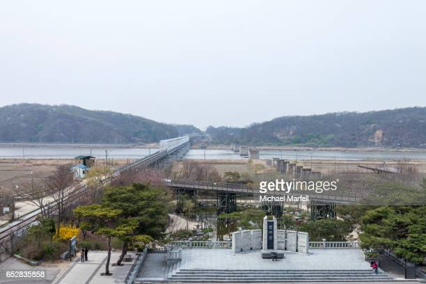 imjingak war memorial - north stock pictures, royalty-free photos & images