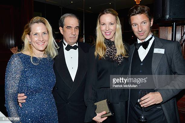 Imke Gerdes David Brower Silvia Frieser and Florian Pollack attend the Golden Fleece Gala of the Kunsthistorisches Museum Vienna at Neue Galerie on...