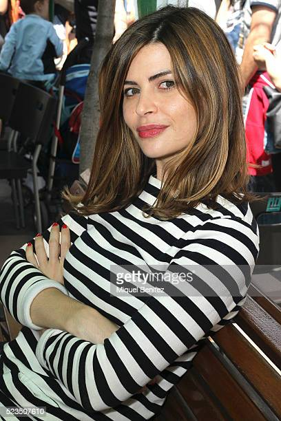 Imma Avalos 'Alicia Kopf' attends 'Sant Jordi's Day''Saint George's Day' at Rambla Catalunya on April 23 2016 in Barcelona Spain