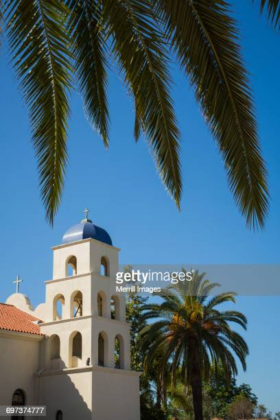 immaculate conception catholic church in old town. - old town san diego stock pictures, royalty-free photos & images