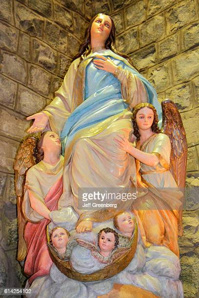 Immaculate Conception Sanctuary Blessed Virgin Mary statue