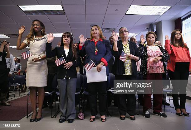26 Citizenship And Immigration Services Hosts Naturalization