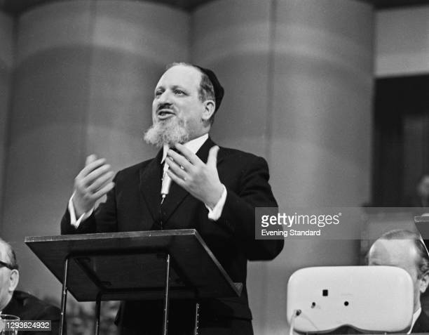 Immanuel Jakobovits , the new Chief Rabbi of the United Hebrew Congregations of the Commonwealth, UK, November 1967.